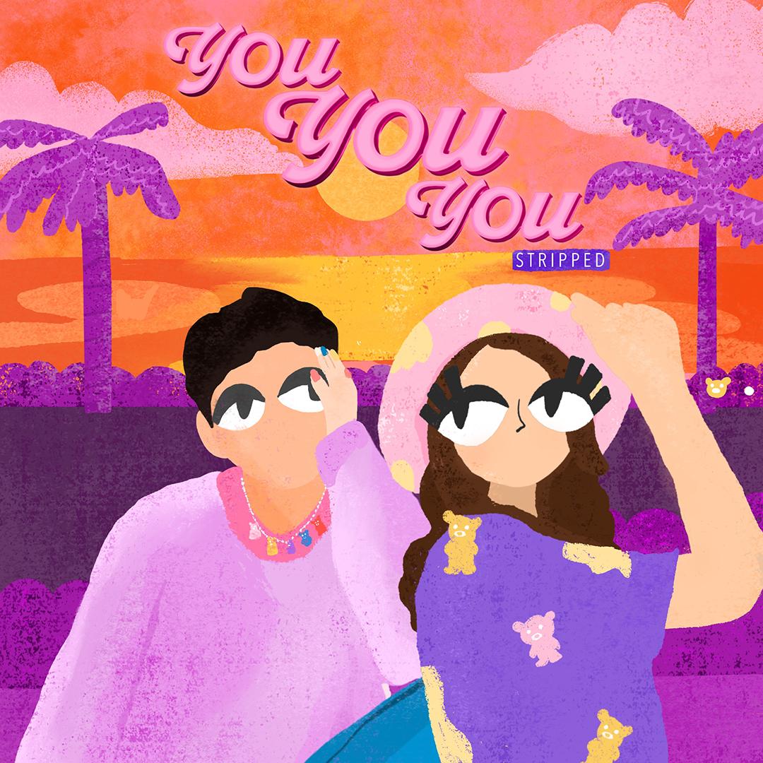 Syahravi dan Amanda Caesa hadirkan hadiah untuk fans melalui : 'You You You (Stripped Version)'